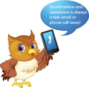 Assistance is always a text, email or phone call away