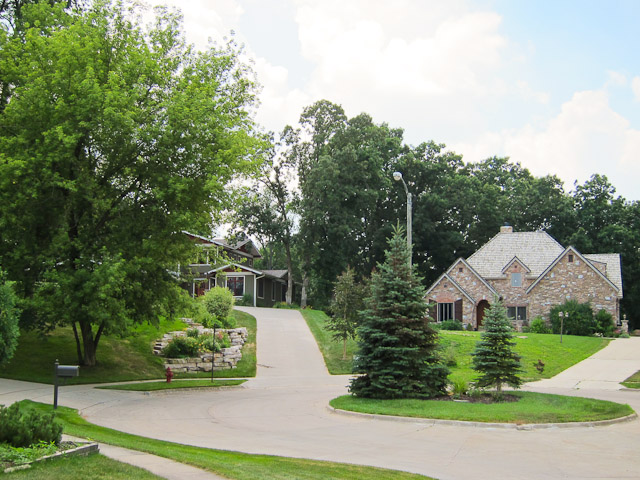 Homes in the Brown Deer Neighborhood