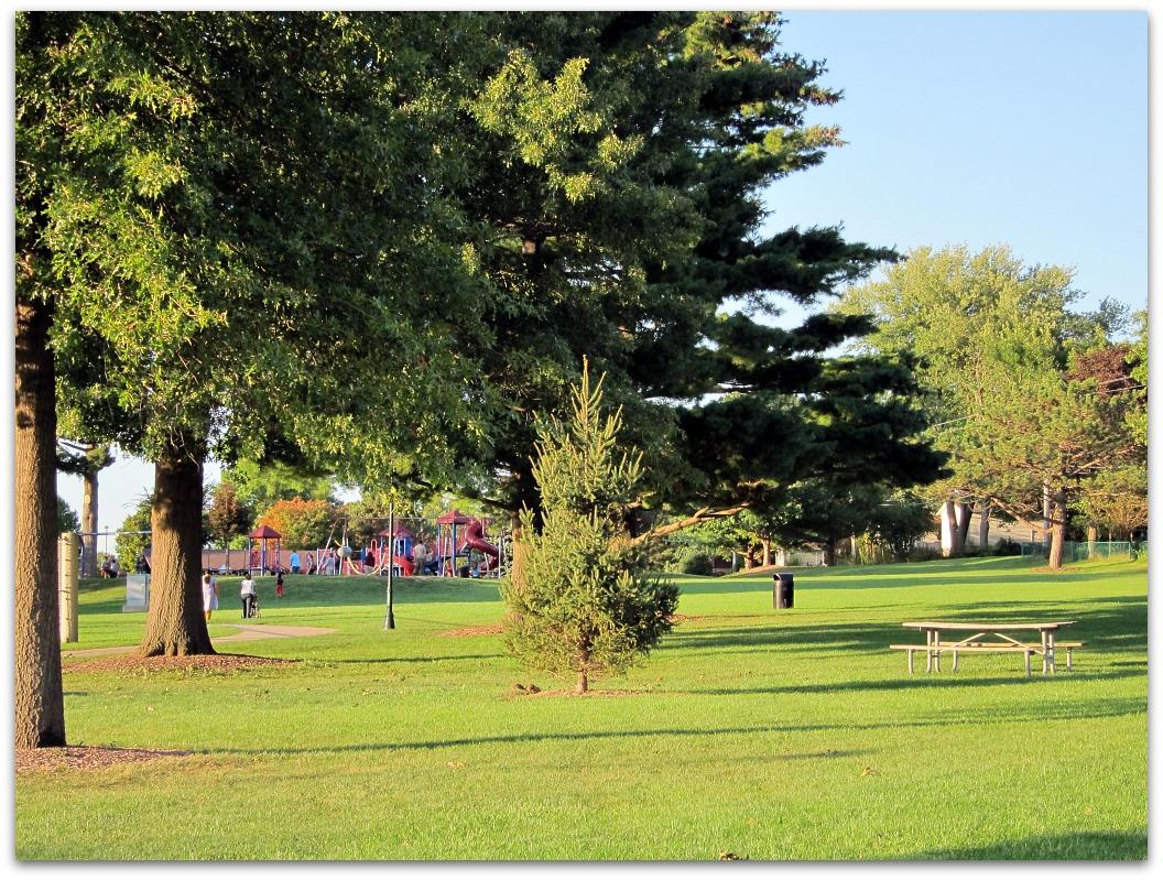 Children's Playground Morrison Park, Coralville