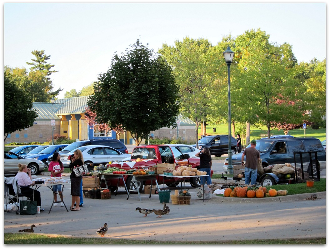 Farmers Market at Morrison Park in Coralville