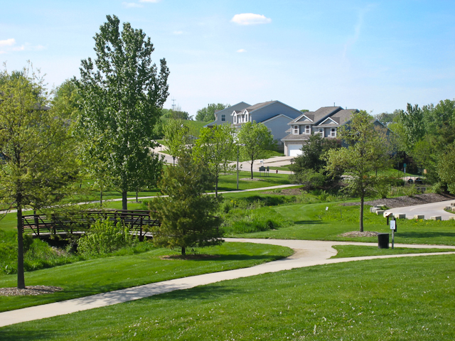 Homes around North Ridge Park, Coralville