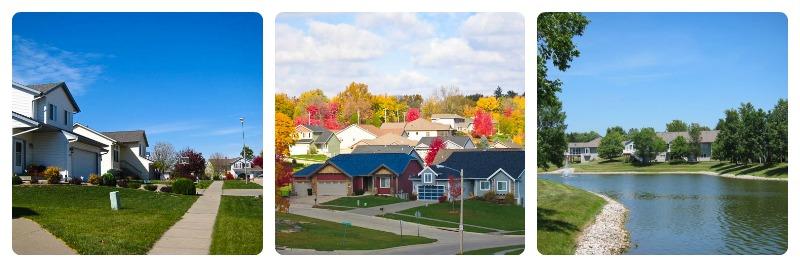 Iowa City - Coralville + North Liberty Neighborhoods