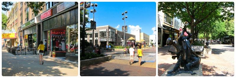 Ped Mall Downtown Iowa City