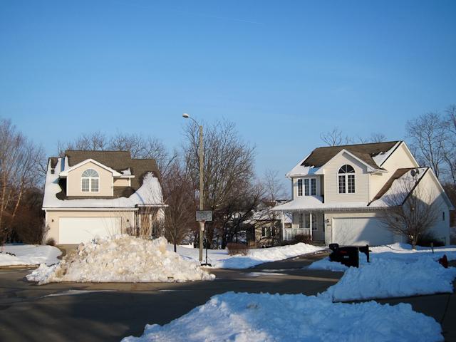Coralville neighborhoods winter 2013